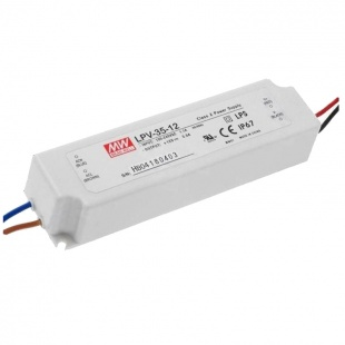 Блок питания Mean Well   LPV-35W 12V  IP67